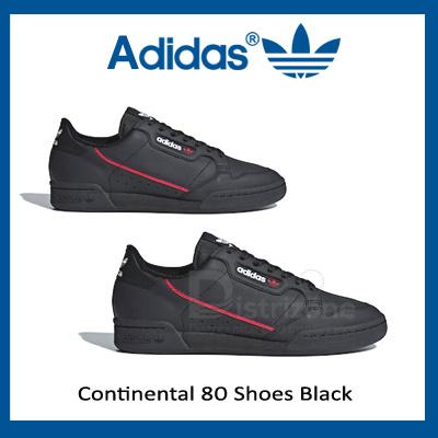 online store 8cc9b fe550 Adidas Continental 80 Shoes Black (Code B41672) Preorder