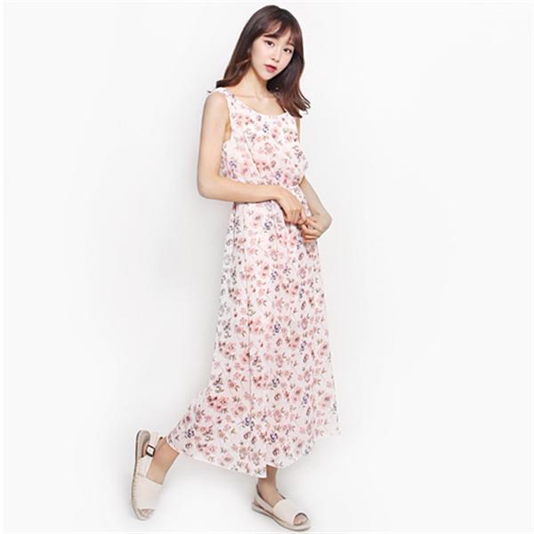 6031エリア・ワンピースnew ロング/マキシワンピース/ワンピース/韓国ファッション