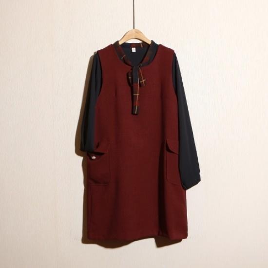スタイルパンパンルイジやワンピース 大きいサイズ/ワンピース/韓国ファッション