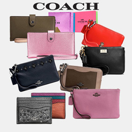 [Coach]  department store  36Type Small Large Wristlet/Official Genuine Products Shipped from USA