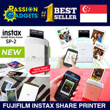 ♥Singapore Local Warranty♥ Fujifilm INSTAX SHARE Photo Printer SP-1 SP-2 Mobile INSTANT Polaroid
