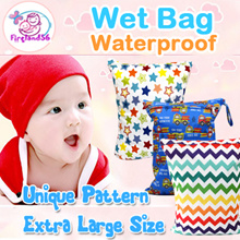 ACC1:Restock 08/10/2018 Waterproof diaper Wet Bag/swimming bag/diaper/zipper/gym/wet bag/wetbag