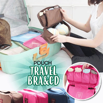 Monopoly Travel Bra and Underwear Pouch Multi Purpose Organizer Bag   Tas Travel Bra dan CD Deals for only Rp25.000 instead of Rp25.000