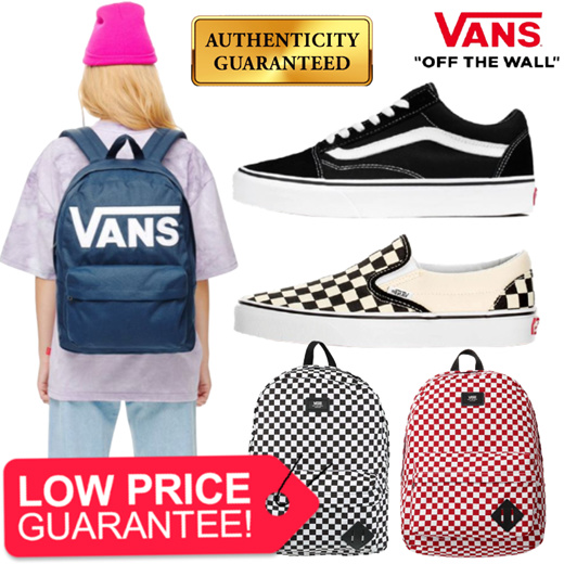 Vans] Shoes Backpack Collection