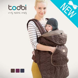 [TODBI] STYLE BABY CARRIER WARMER/ MADE IN KOREA