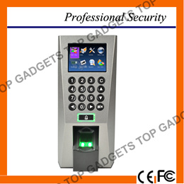 F18 Fingerprint Standalone Access Control and Time Attendance