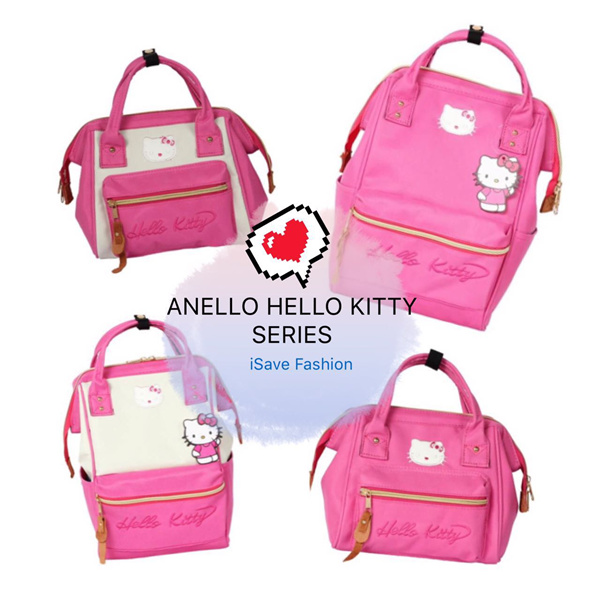 e42eae5eec31 Buy 2017 JAPAN ANELLO NEW ITEMS!!! HELLO KITTY SERIES! HIGH QUALITY  BACKPACK! Fashion  New Arrival Deals for only RM45 instead of RM45