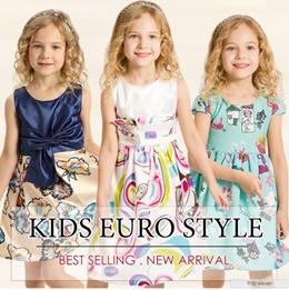 ★Cute European Baby Girl Toddler Kids Dress Gown Princess Dress Children Clothing Christmas CNY★