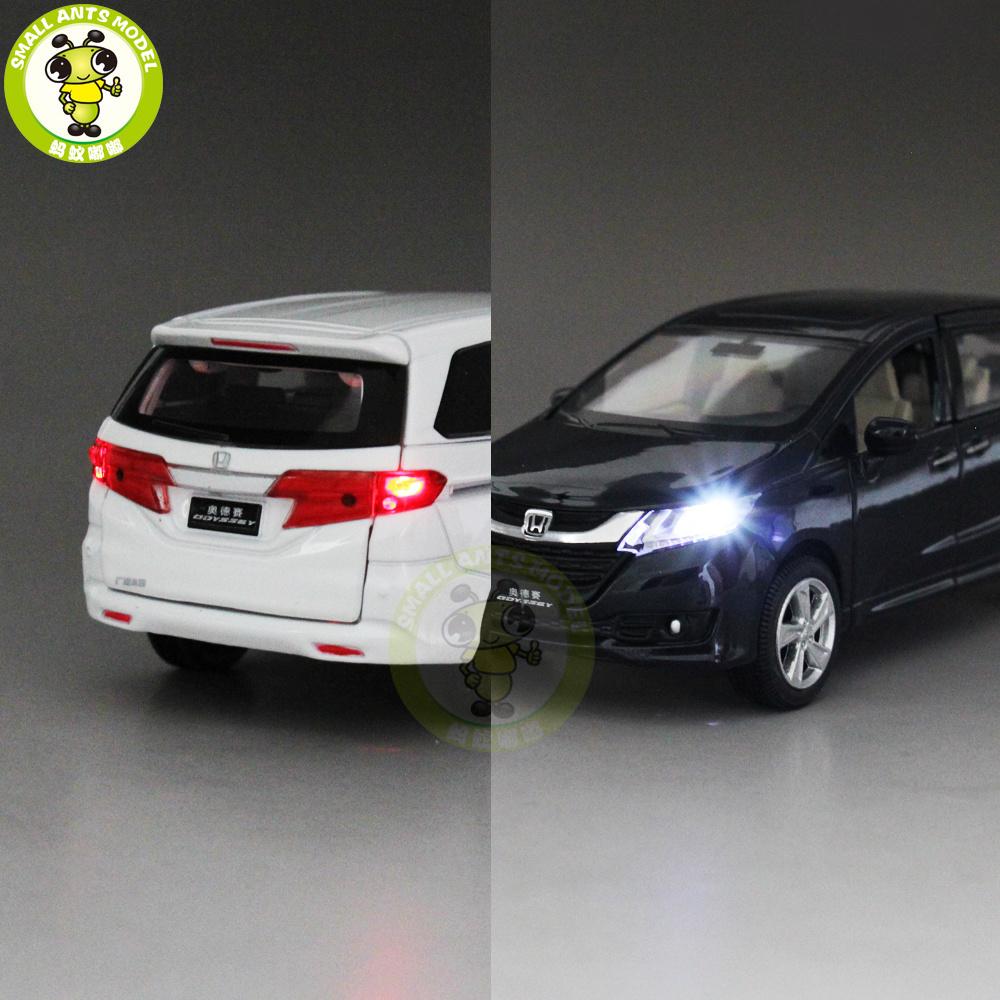 online 1/32 Honda Odyssey MPV Diecast Metal Model CAR Toys for kids  children Sound Lighting Pull Bac