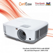 ViewSonic PA503W WXGA with HDMI Biz and Edu Projector- 3600 ANSI