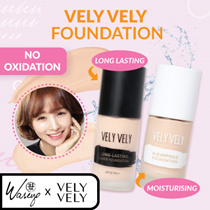Vely Vely No.1 Coverage Foundation ! H2O Ampoule + Long Lasting Foundations | 2 Types | 2 Shades