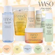 FREE SHIPPING!!! Shiseido WASO Travel Size - Mineral Oil Free and Paraben Free. All Natural made of