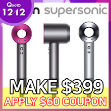 [6 Months Warranty] Dyson Supersonic Hair Dryer ★ 3 Speed Settings ★ 4 Heat Settings ★ 1600W