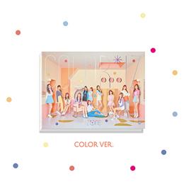 IZ*ONE IZONE - COLOR*IZ [COLOR ver.] (1st Mini Album) CD+Photobook+Photocards+Free GIft