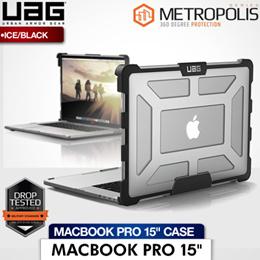 UAG MacBook Pro 15 inch 2016 Case (Ice/Black Transparent)