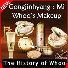 [The History of Whoo]Gongjinhyang Mi/Base/Foundation/Cushion/Powder/Pact/Lipstick/Lip balm/Lip Gloss