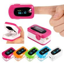 Fashion Finger Fingertip Pulse Oximeter Blood Oxygen Meter Heart Rate Monitor