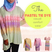 More than 10 Pastel Tie Dye Collection -- Casual Comfort Collection