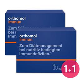 (무료배송) [1+1 큐텐최저! 쿠폰가 최대 $92.5] 오쏘몰 / Orthomol  1+1 (2개월) 택1 - 이뮨(Immun} / 바이탈(M) / 바이탈 (F)