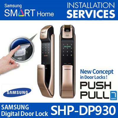 Qoo10 shs dp930 furniture deco 2017 newest shp dp930 samsung digital doorlock push pull shp dp930 shp dp830 fandeluxe Choice Image