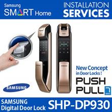 2017 Newest SHP-DP930 SAMSUNG DIGITAL DOORLOCK PUSH PULL  SHP-DP930 SHP-DP830 SHP-DP730 SHP-DP920