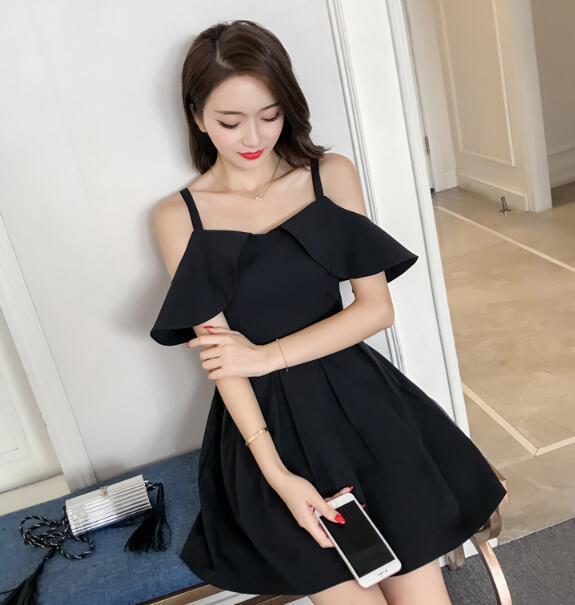 [55555SHOP]★韓国ファッション 2018春新作 ★ ワンピース★ パーティードレス ワンピース  パーティー ドレス ワンピ ミニドレス ショート ドレス