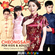 2018 Premium CNY Cheongsam Adult Children Men Kids Qipao Best Quality Best Seller CNY DnD Dress