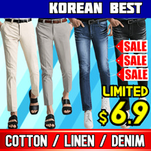 🌊Never Before Price / Korea No.1 Mens Pants Collection / Jeans/ mens pants🌊