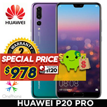 Huawei P20 Pro Smartphone / Local Set with 2 Years Warranty