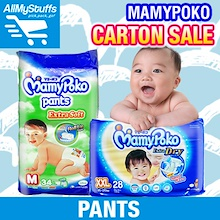 【Mamypoko】Extra Soft Pants / JUMBO pack ★Carton Sale