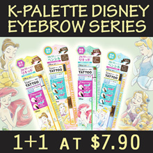 [1+1 with FREE Shipping] Limited Edition Disney Princess K-Palette Eyeliner Eyebrow Series