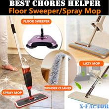 5 DESIGNS-Wonder Cleaner/Microfiber Spray Mop/handfree lazy mop/Floor Sweeper/Hand propelled sweeper