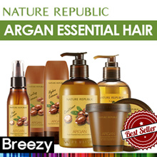 BREEZY ★ [Nature Republic] Argan Essential Line / Shampoo / Conditioner / Essence / Pack / Curl Essence / Hydro / Deep Care / Korean Cosmetic / Korean Beauty / Made in Korea