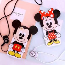 ★ daily Sale new appearance limited sale free shipping new arrival high quality 2016 ★ strap with Disney 3D stereoscopic Mickey Mickey Minnie Minnie iphone case iphone6 ​​case Aiphone case iPhone6 ​​D