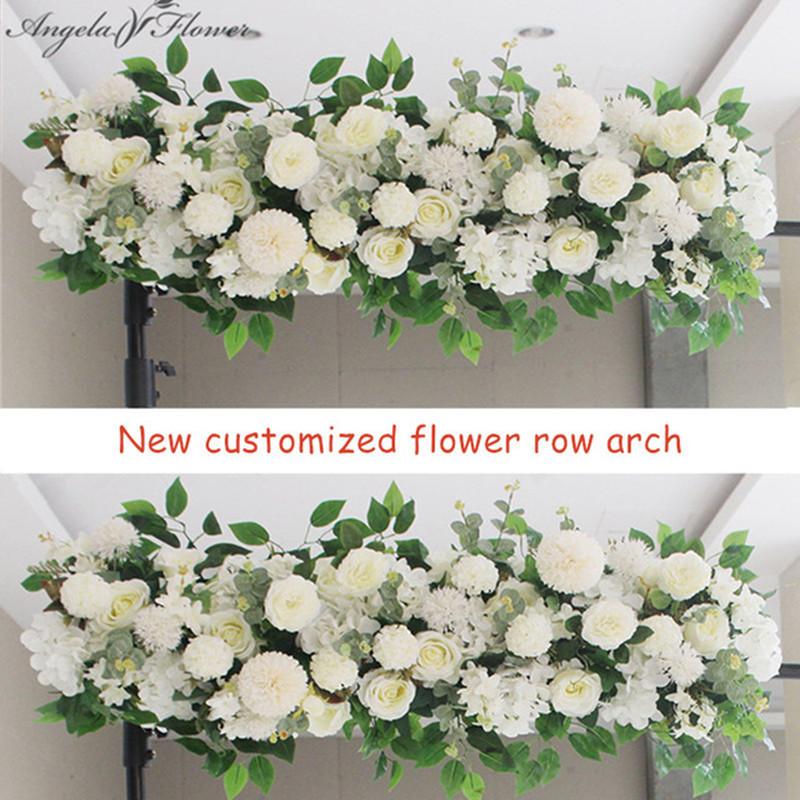 Qoo10 50 100cm Diy Wedding Flower Wall Arrangement Supplies Silk Peonies Ros Furniture Deco
