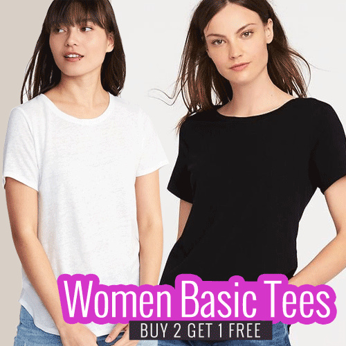 [BUY 2 GET 1 FREE] KAOS WANITA POLOS LT 016 Deals for only Rp39.000 instead of Rp39.000