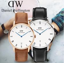Dapper ★ Daniel Wellington menonton ★ 38mm / 34mm Pecinta Tonton 100% Asli DW Jam tangan