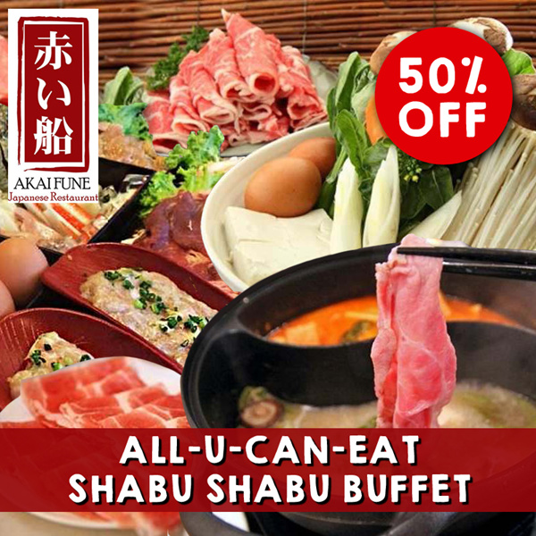 [Akaifune] LAST DAY!! All You Can Eat Shabu Shabu Hotpot Buffet Weekday/Weekend Lunch/Dinner! Deals for only S$25.9 instead of S$0