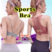 ^SweetangelShop Local Seller/Exchange^ Sports Yoga Zumba Gym Running Bra