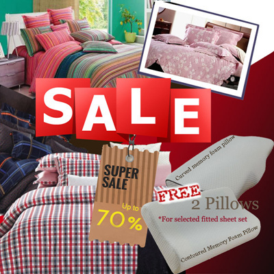 Perfect [Bedding Affairs Clearance SALES! Up To 70% OFF Originial Price] Bedsheet  Sets