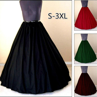 Qoo10 - Plus Size S-3XL Medieval Dress Costume Pirate Skirt Women ...