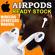 ⭐Ready Stock⭐Best Seller ★ Apple AirPods Wireless Earphones  Bluetooth ★ Local SG 1 year warranty