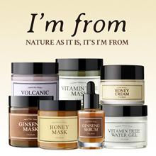 [IM FROM] Real Honey Mask/ ginseng serum/ginseng mask/volcanic mask/vitamin tree water gelmask