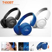 JBL Pure Bass Sound Bluetooth T450BT Wireless On-Ear Headphones Bluetooth4.0 New
