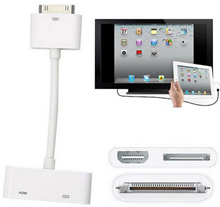 Digital AV 1080P HDMI Cable HD TV Adapter Apple iPad 2/3 iPhone 4/4S iPod Touch