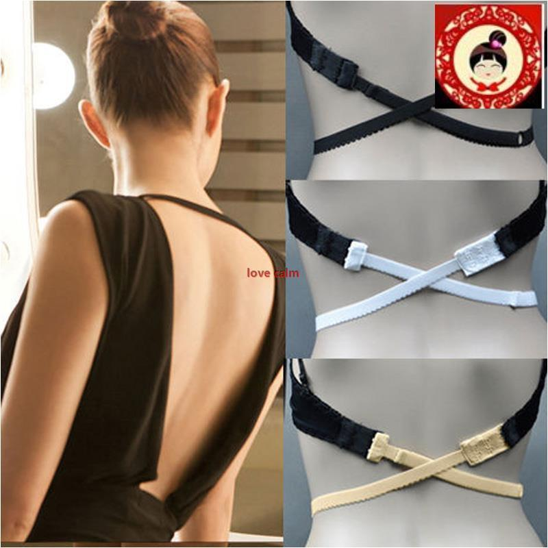 9d5c38f4bca97 Show All Item Images. close. fit to viewer. prev next. Adjustable invisible  LOW BACK BACKLESS BRA STRAP CONVERTER ...