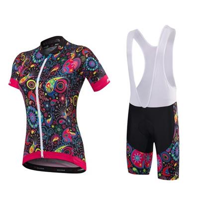 f8bce71be 2017 MALCIKLO Team Pro Women s fashion Cycling Jersey set Maillot Cycling  Clothing Rock Racing
