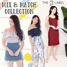 *THE J LABEL* Mix and Match Tops/Bottoms/Culottes/Shirts/DRESSES