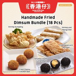Handmade Fried Dimsum Bundle of 3 x 6pcs (18pcs) | Bestselling Dimsums