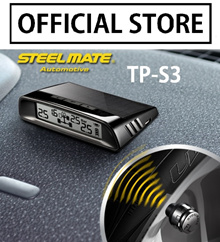 Steelmate TPMS TP-S3 Solar Charging External Internal Sensor Car Tire Pressure Monitoring System